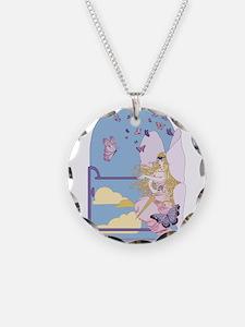 Tarot The Queen of Swords Necklace