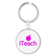 Gifts for Teachers - iTeach Round Keychain