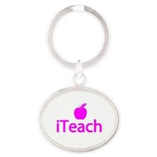 Gifts for Teachers - iTeach Oval Keychain