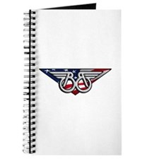 Winged B With American Flag Journal