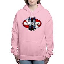 Born To Dive (ST) Women's Hooded Sweatshirt