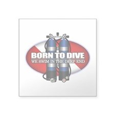 Born To Dive (ST) Sticker