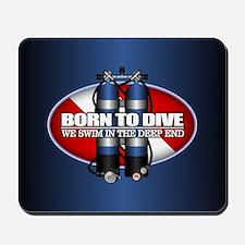 Born To Dive (ST) Mousepad
