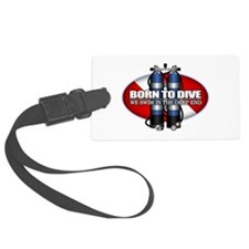 Born To Dive (ST) Luggage Tag