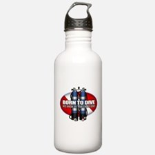 Born To Dive (ST) Water Bottle