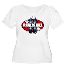 Born To Dive (ST) Plus Size T-Shirt