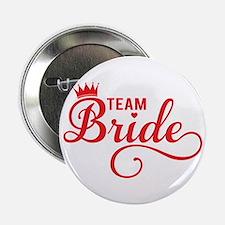 """Team bride red 2.25"""" Button"""