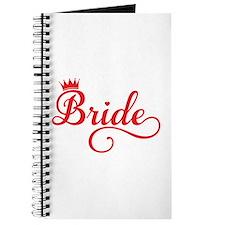 Bride red Journal
