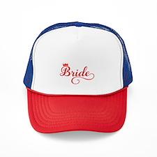 Bride red Trucker Hat