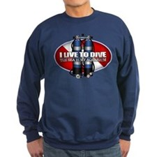 Live To Dive (ST) Sweatshirt