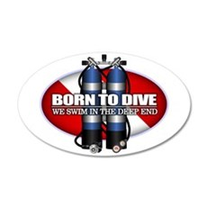 Born To Dive (ST) Wall Decal