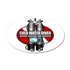 Cold Water Diver (ST) Wall Decal