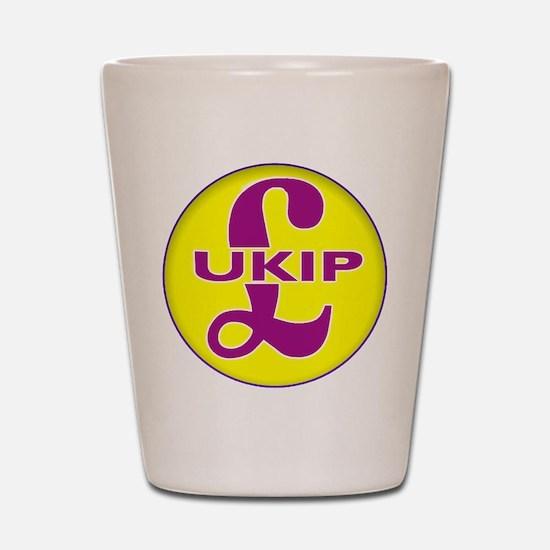 UKIP Shot Glass