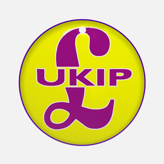 United Kingdom Indendence Party Ornament (Round)
