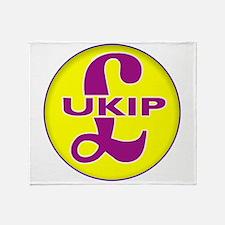 UKIP Throw Blanket