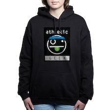 athletic GEEK Women's Hooded Sweatshirt