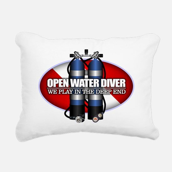 Open Water Diver (Scuba Tanks) Rectangular Canvas