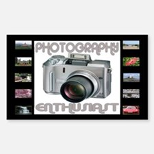 ...Photography Enthusiast... Rectangle Decal