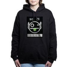 sci-fi GEEK Women's Hooded Sweatshirt