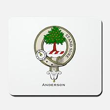 Anderson Clan Badge Mousepad