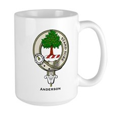 Anderson Clan Badge Mugs