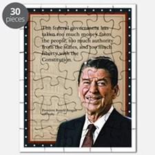 President Ronald Reagan Quote Puzzle