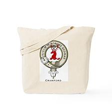 Crawford Clan Badge Tote Bag