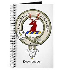 Davidson Clan Badge Journal