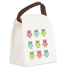 owls Canvas Lunch Bag