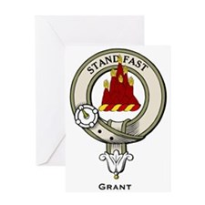 Grant Clan Badge Greeting Cards