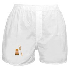 Safety Cones Boxer Shorts