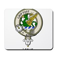 Leslie Clan Badge Mousepad
