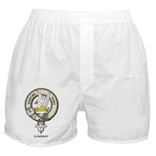 Lindsay Clan Badge Boxer Shorts