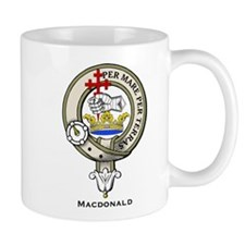 MacDonald Clan Badge Mugs