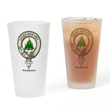 MacKenzie Clan Badge Drinking Glass