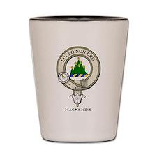 MacKenzie Clan Badge Shot Glass