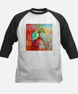 Beautiful Bird Painting Baseball Jersey