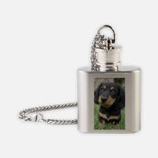 daschund Flask Necklace