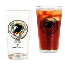 MacLaren Clan Badge Drinking Glass