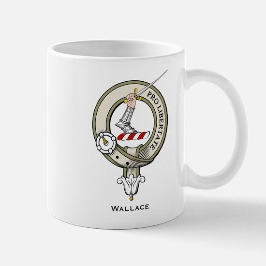 Wallace Clan Badge Mugs