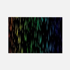 Rainbow Rain Magnets