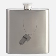 Referee Whistle Coach Flask