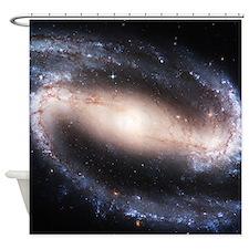 Superstar Spiral Galaxy Shower Curtain