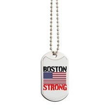 Boston Strong Dog Tags