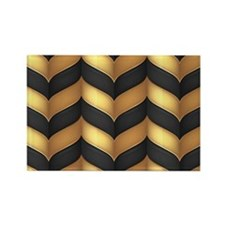 Black and Gold Magnets
