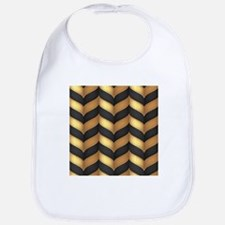 Black and Gold Bib