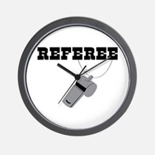 Referee Whistle Wall Clock
