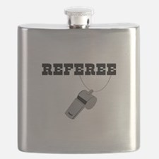 Referee Whistle Flask
