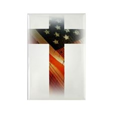Flag in Cross Magnets