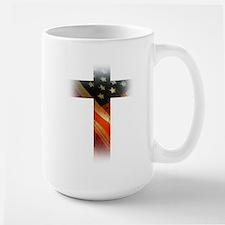 Flag in Cross Mugs